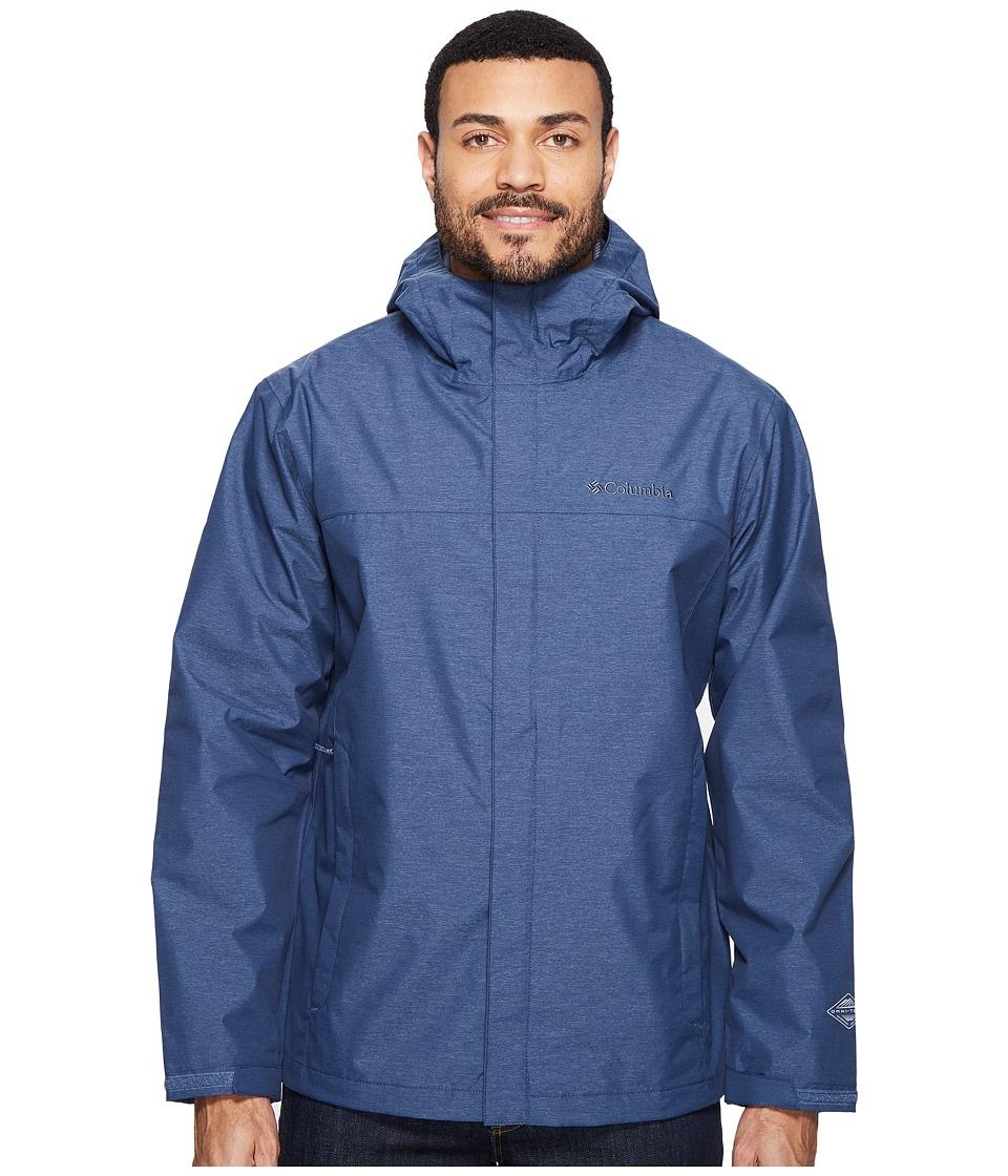 Columbia - Diablo Creek Rain Jacket (Zinc) Men's Coat