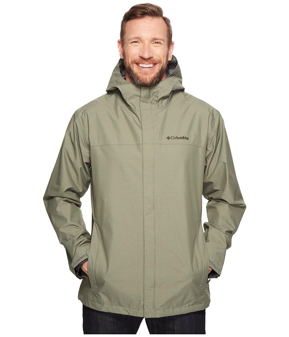 Columbia - Big Tall Diablo Creek Rain Jacket (Cypress) Men's Coat