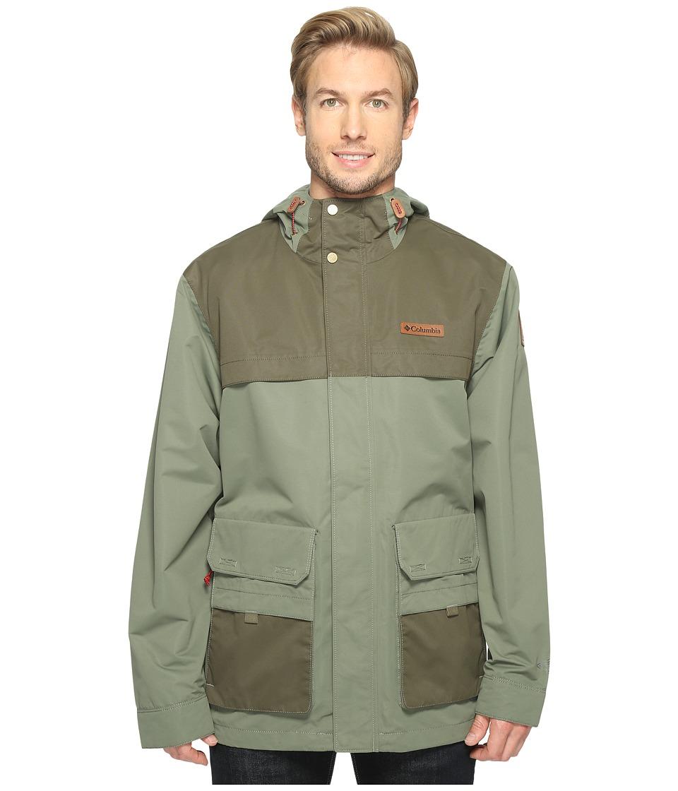 Columbia - South Canyon Jacket (Cypress/Peatmoss) Men's Coat