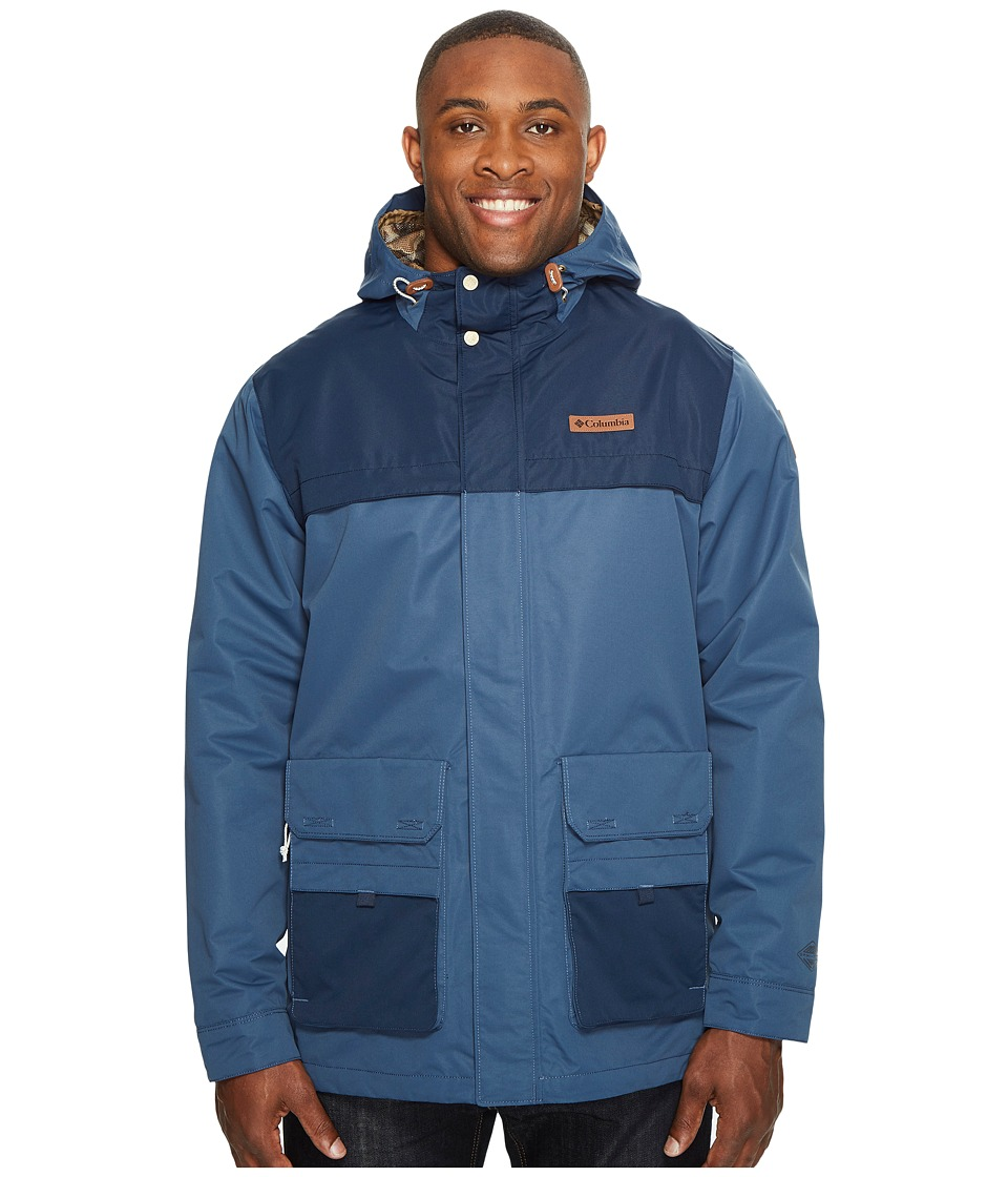 Columbia Big Tall South Canyon Jacket (Zinc/Collegiate Navy) Men