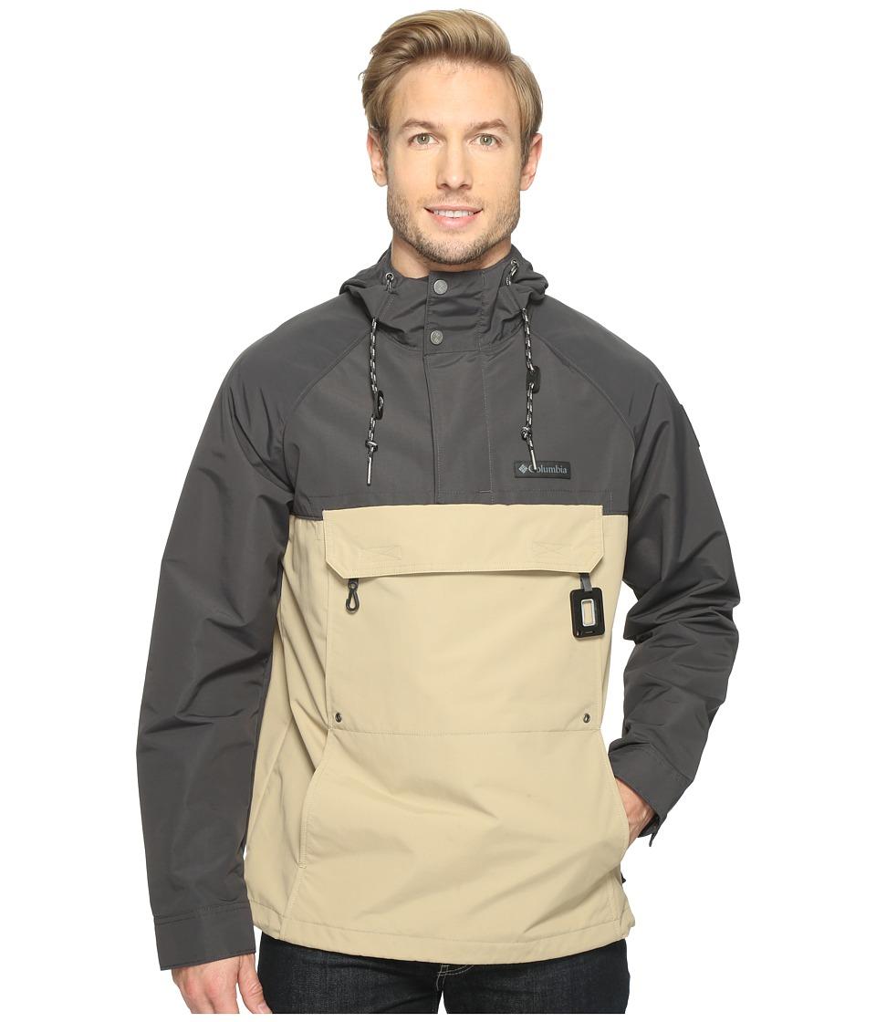 Columbia - South Canyon Creek Anorak Jacket (British Tan/Shark) Men's Coat