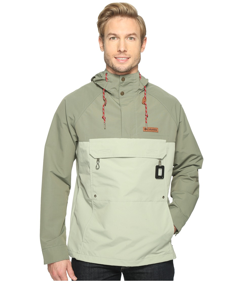 Columbia - South Canyon Creek Anorak Jacket (Safari/Cypress) Men's Coat