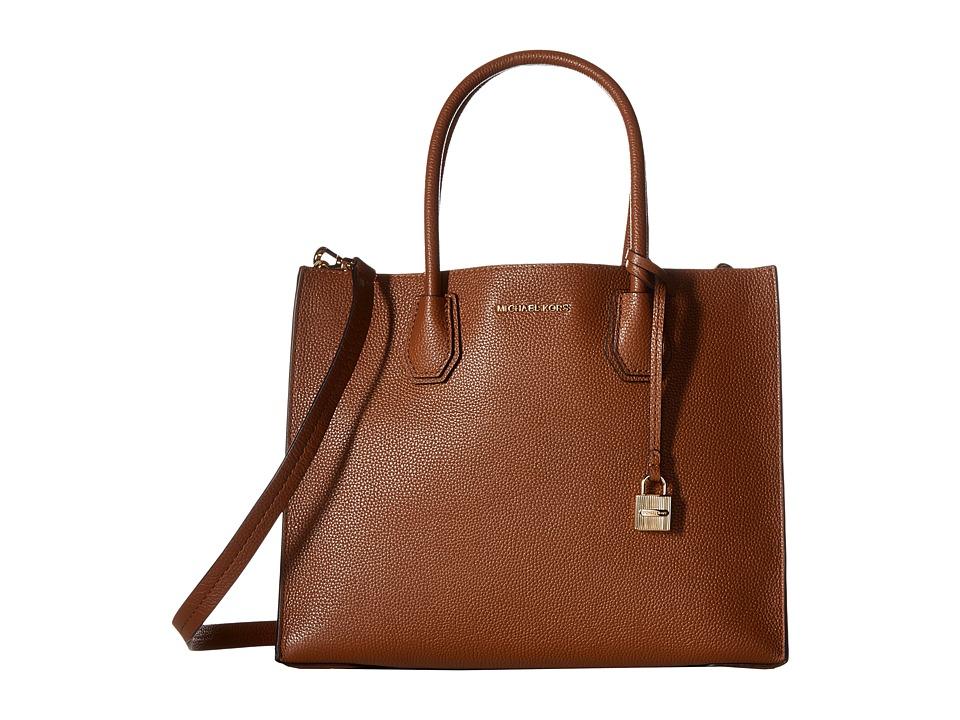 MICHAEL Michael Kors - Mercer Lg Conv Tote (Luggage) Tote Handbags