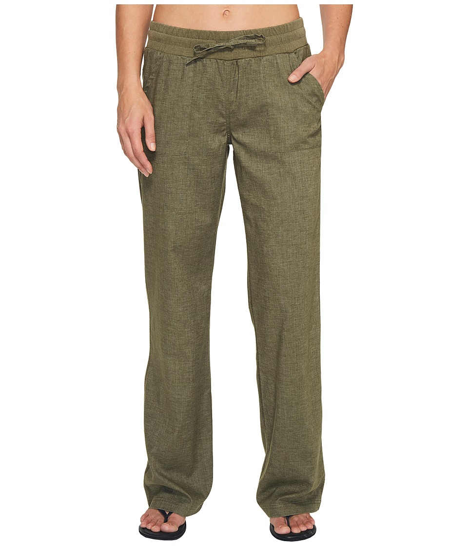 Prana - Mantra Pant (Cargo Green) Women's Casual Pants