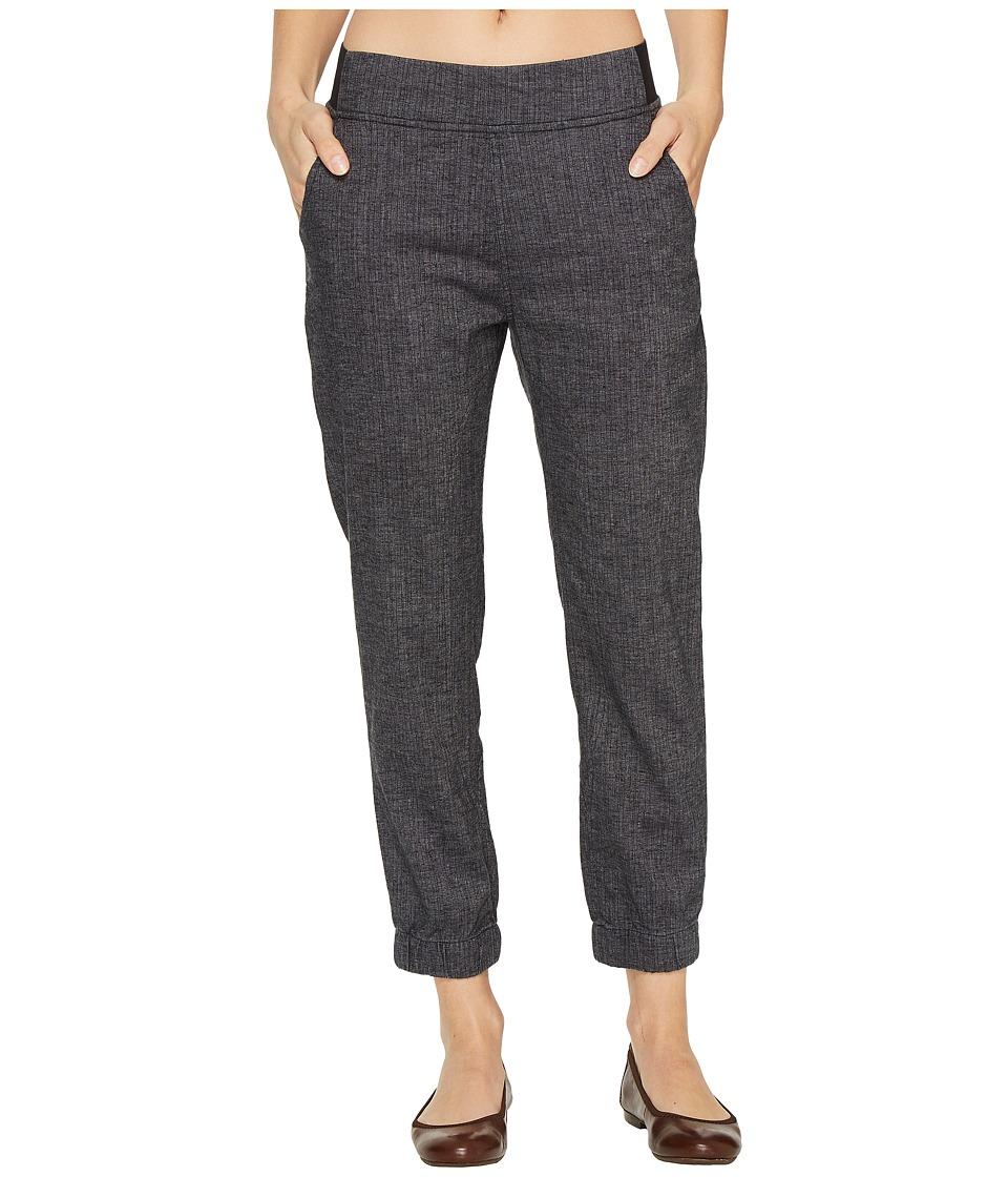 Prana - Annexi Pants (Black Herringbone) Women's Clothing