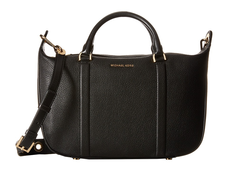 MICHAEL Michael Kors - Raven Lg Satchel (Black) Satchel Handbags