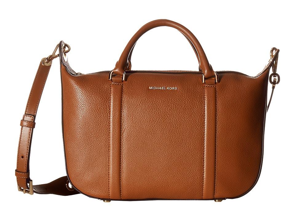 MICHAEL Michael Kors - Raven Lg Satchel (Luggage) Satchel Handbags