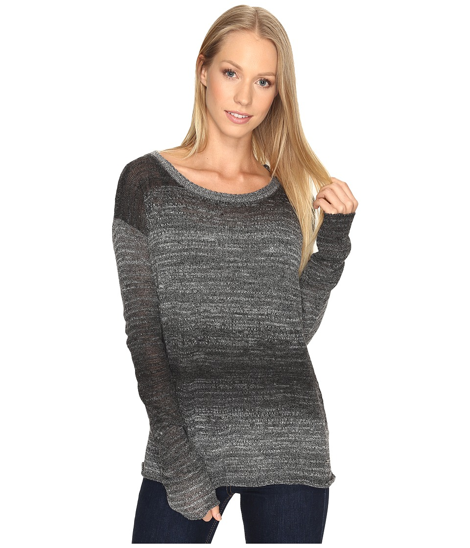 Prana - Nightingale Sweater (Black/White) Women's Sweater