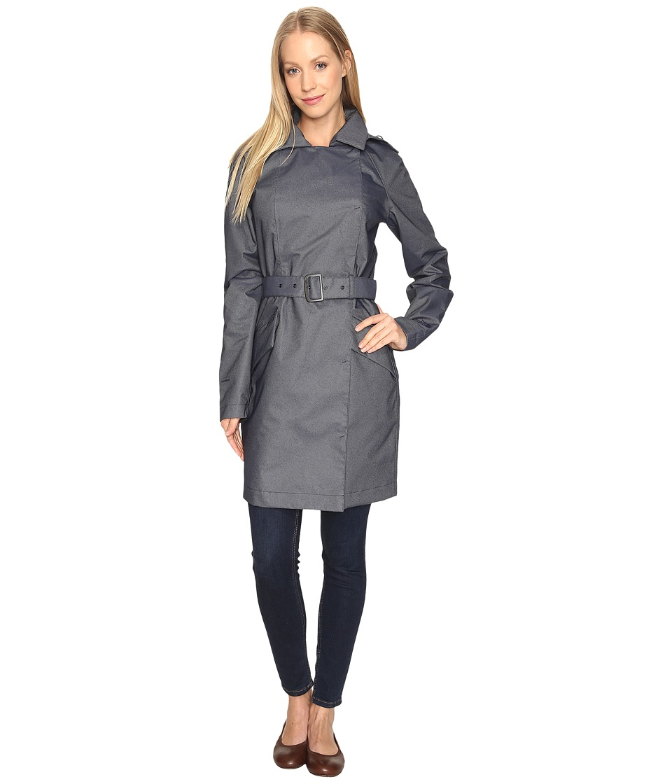 The North Face - Kadin Trench Coat (Urban Navy Denim (Prior Season)) Women's Coat