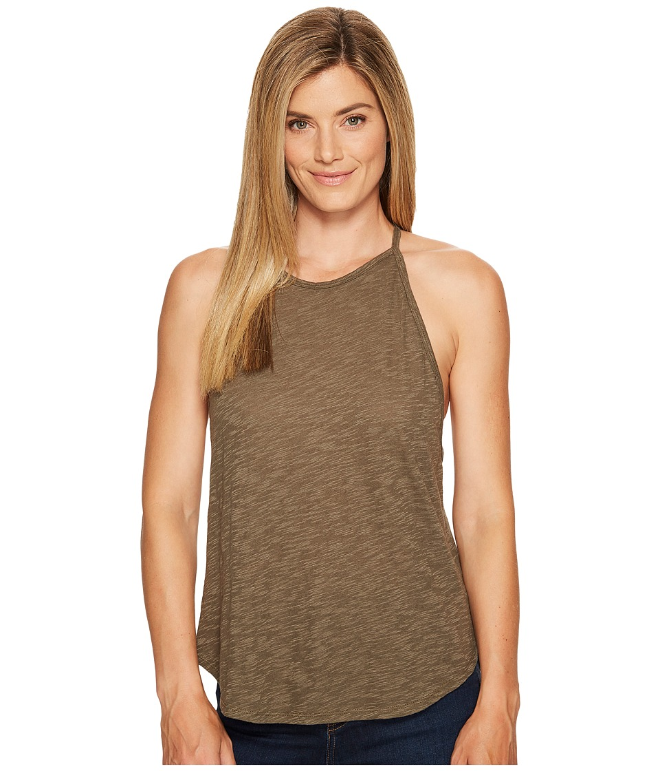 Prana - You Tank Top (Cargo Green) Women's Sleeveless
