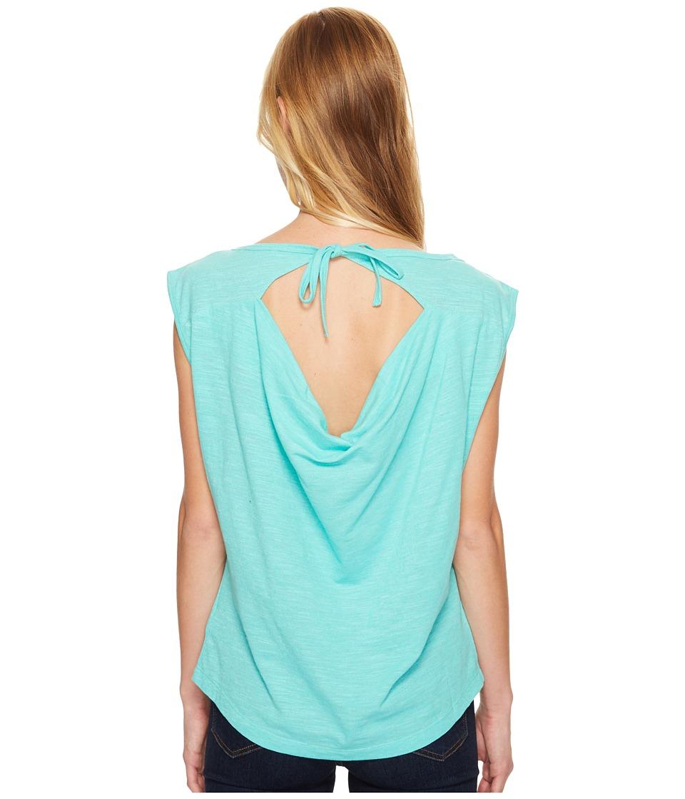 Prana - Constance Top (Aquamarine) Women's Clothing