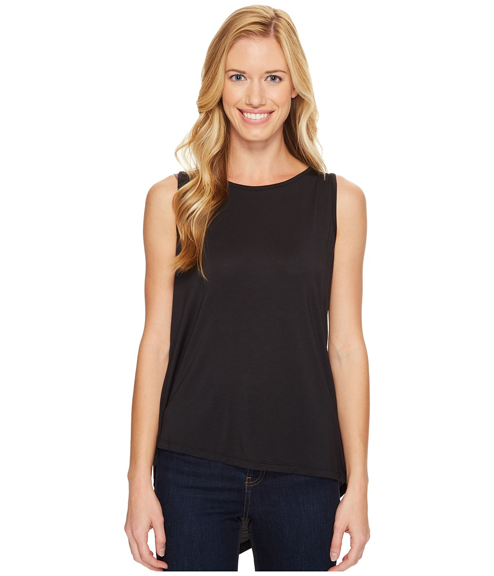 Prana - Twisted Tank Top (Black) Women's Sleeveless