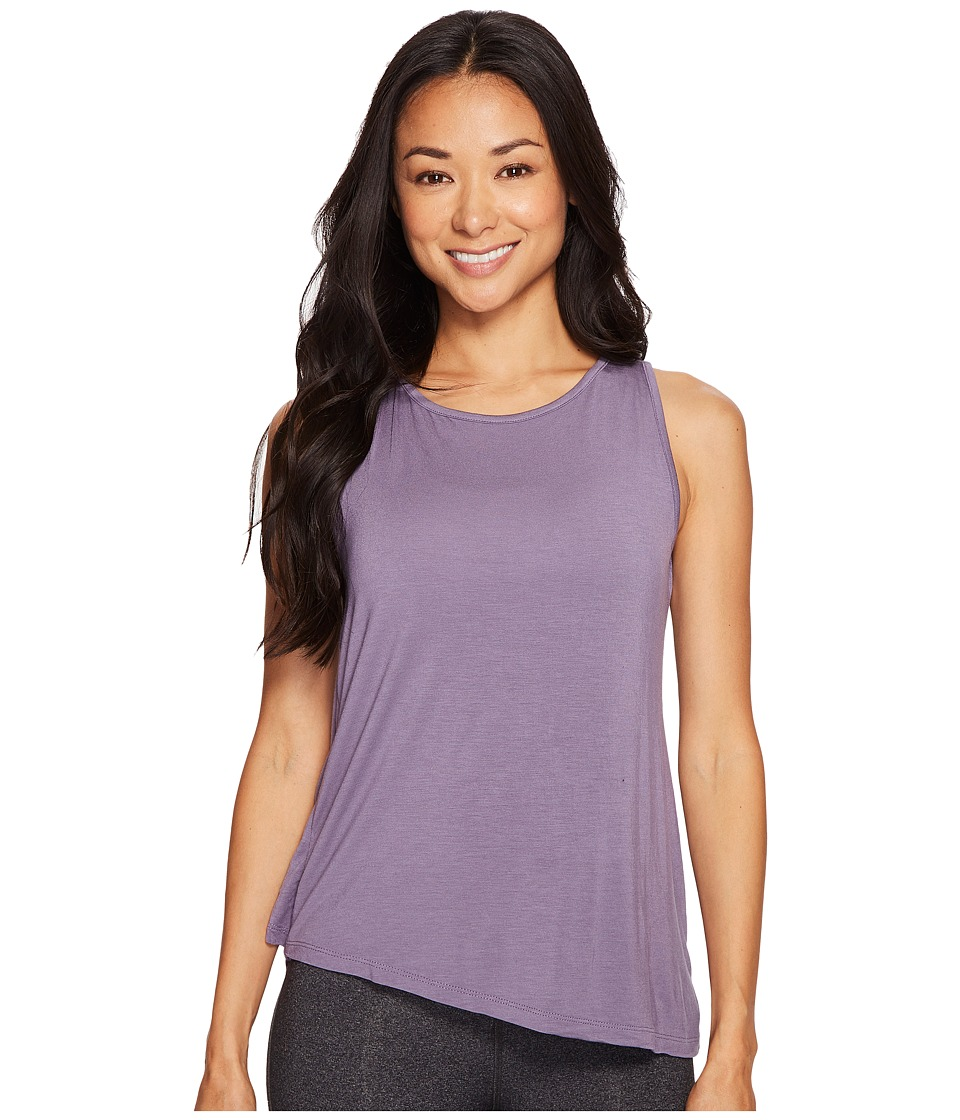 Prana - Twisted Tank Top (Purple Mountain) Women's Sleeveless