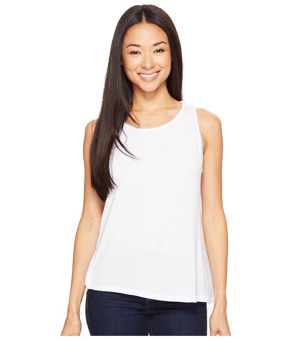Prana - Twisted Tank Top (White) Women's Sleeveless