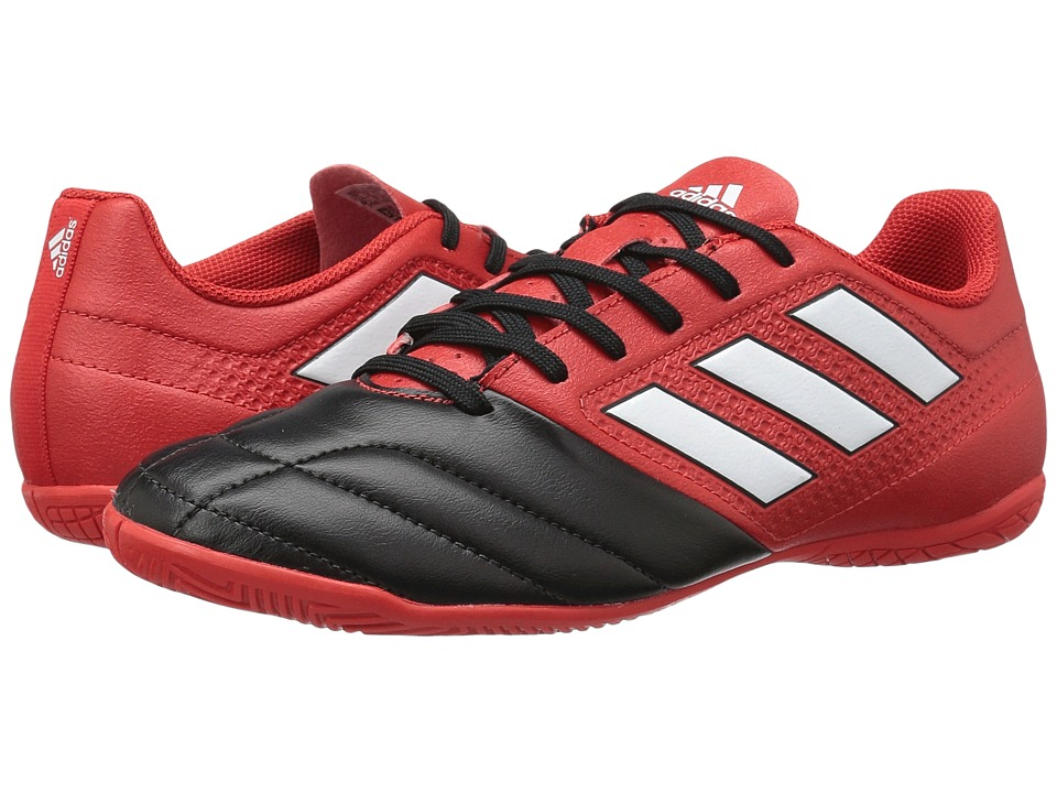 adidas - Ace 17.4 IN (Red/Footwear White/Core Black) Men's Soccer Shoes