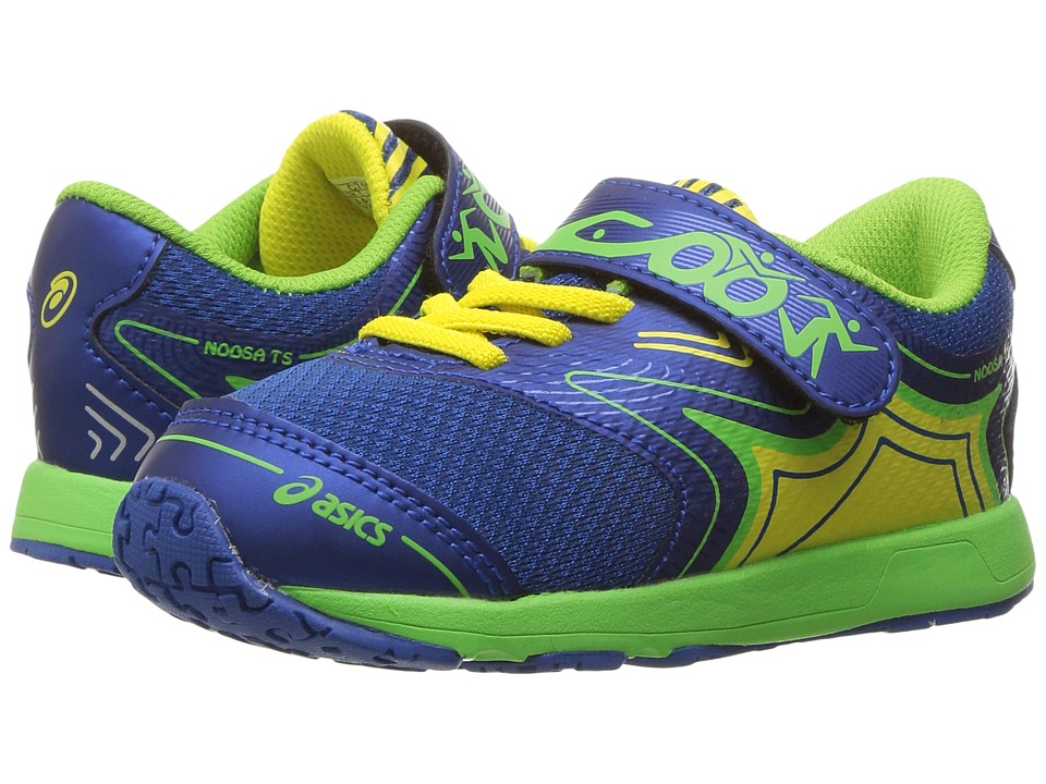 ASICS Kids - Noosa TS (Toddler) (Imperial/Green Gecko/Safety Yellow) Boys Shoes