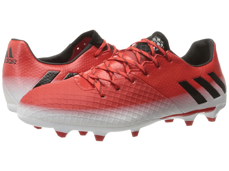 adidas - Messi 16.2 FG (Red/Core Black/Footwear White) Men's Cleated Shoes