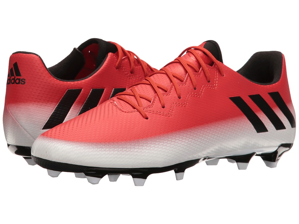 adidas - Messi 16.3 FG (Red/Core Black/Footwear White) Men's Cleated Shoes