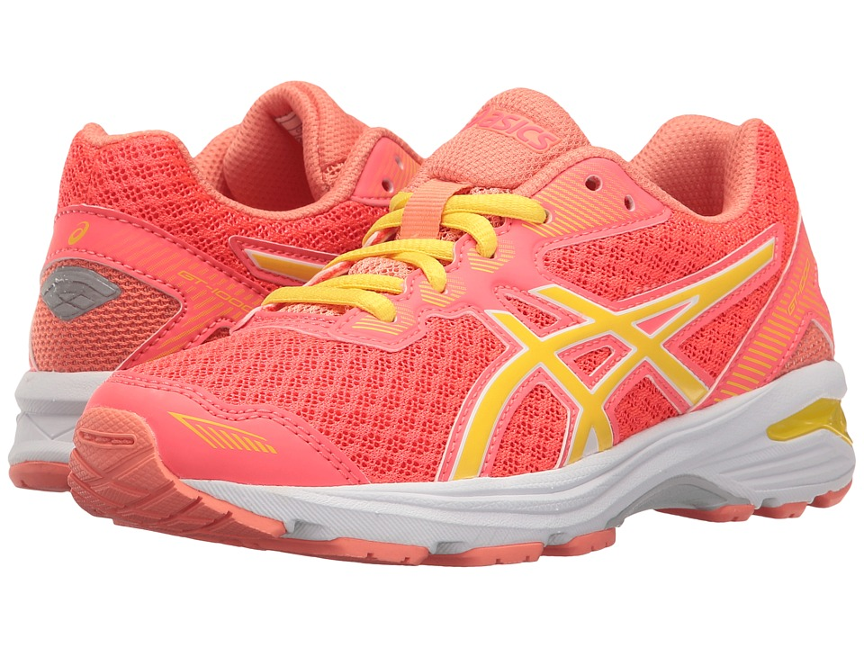 ASICS Kids - GT-1000 5 GS (Little Kid/Big Kid) (Diva Pink/Sun/Melon) Girls Shoes