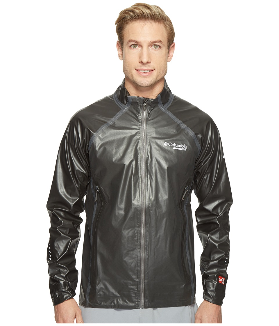 Columbia - Outdry Ex Hybrid Training Jacket (Black) Men's Coat