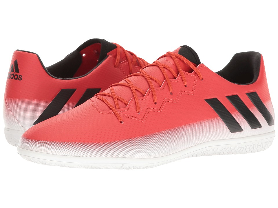 adidas - Messi 16.3 IN (Red/Core Black/Footwear White) Men's Soccer Shoes