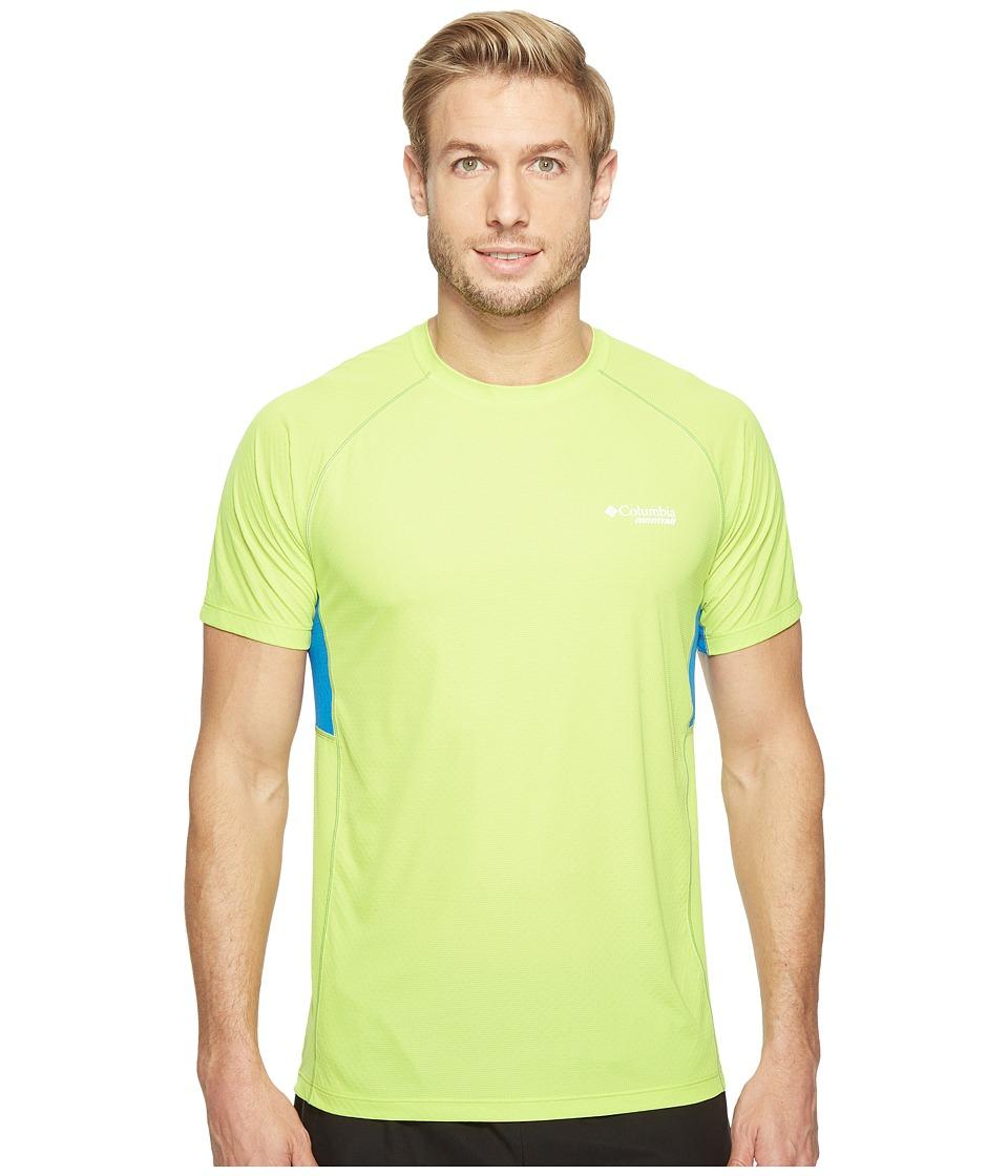Columbia - Titan Ultra Short Sleeve Shirt (Voltage/Super Blue) Men's Short Sleeve Pullover