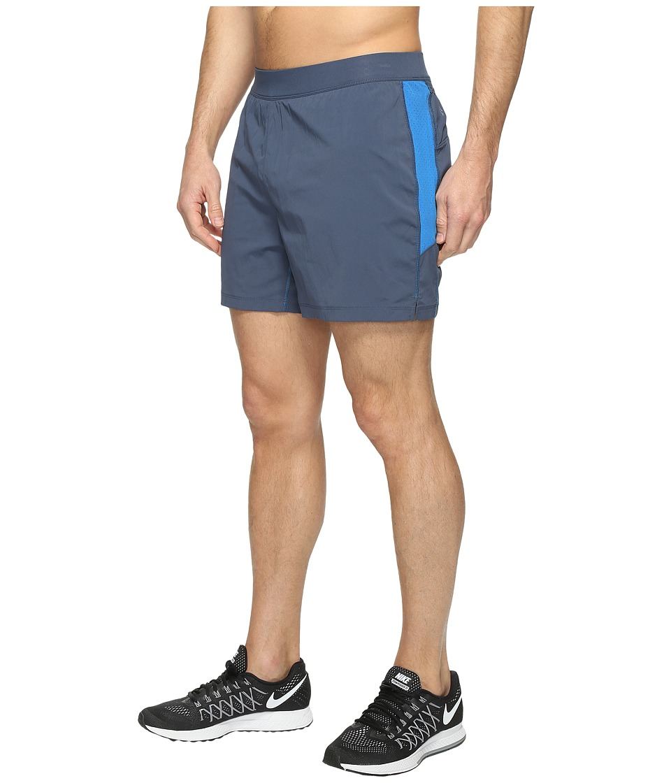 Columbia - Titan Ultra Shorts (Zinc/Super Blue) Men's Shorts