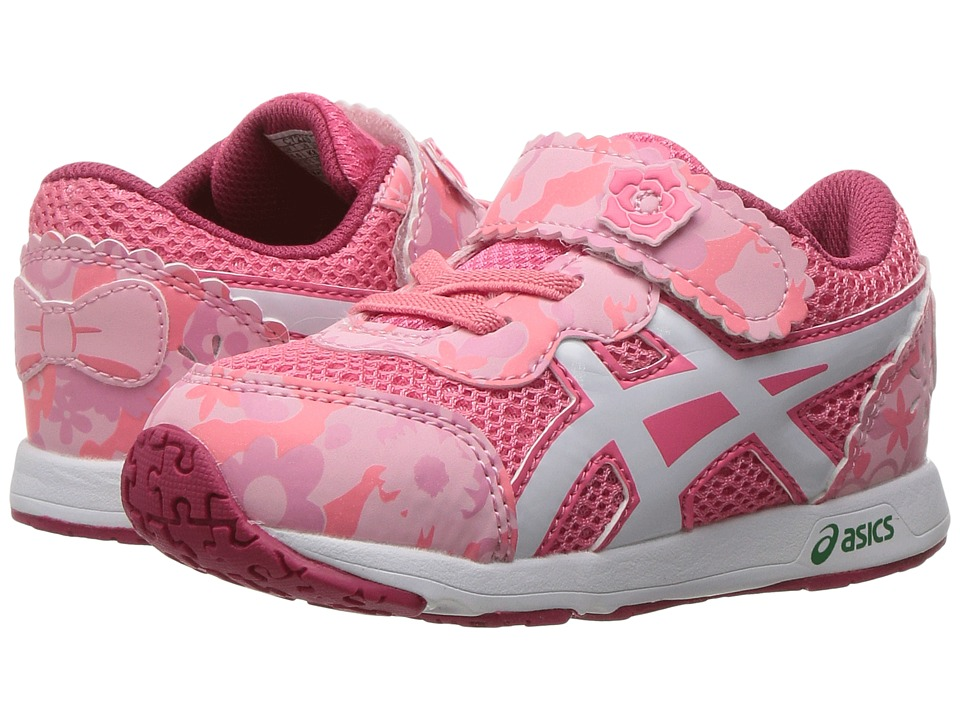 ASICS Kids - School Yard TS (Toddler) (Rose Pink/White) Girls Shoes
