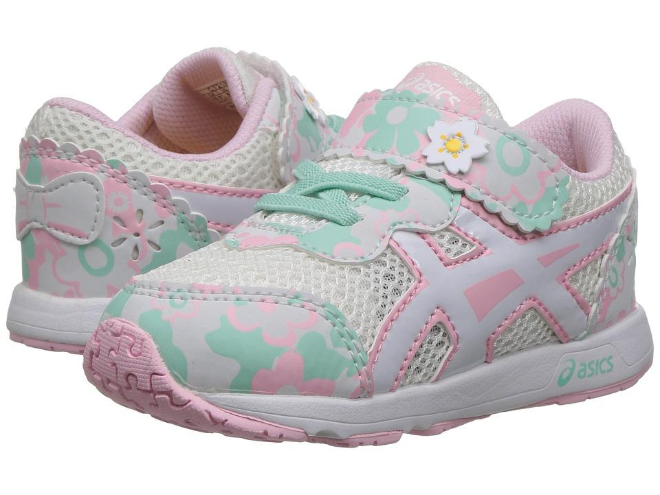 ASICS Kids - School Yard TS (Toddler) (Cherry Blossoms Snow/White) Girls Shoes