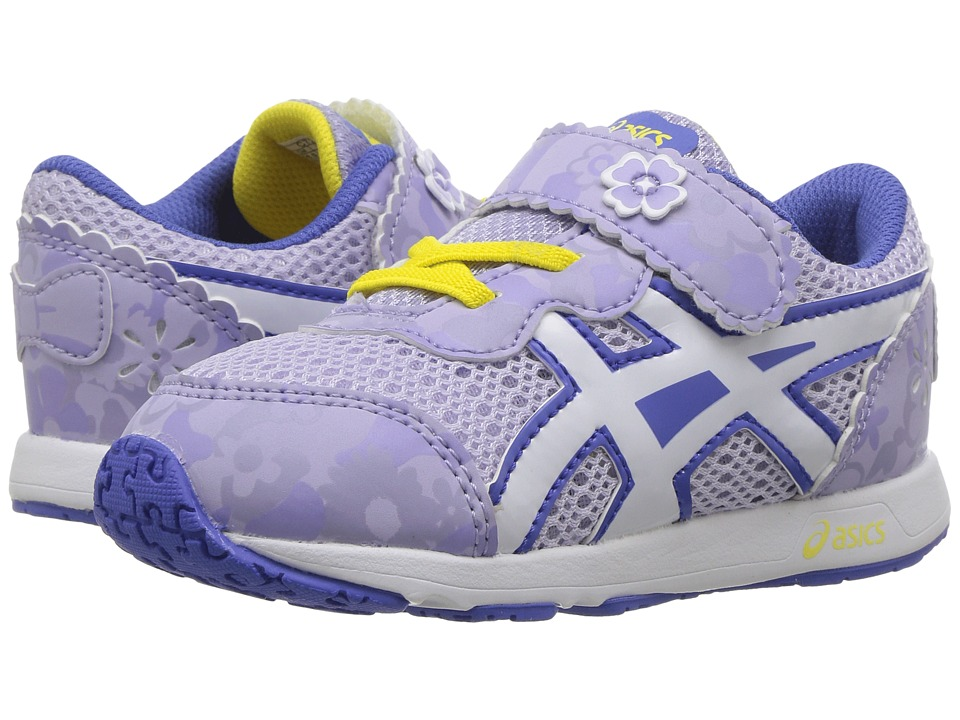 ASICS Kids - School Yard TS (Toddler) (Pansy Purple/White) Girls Shoes