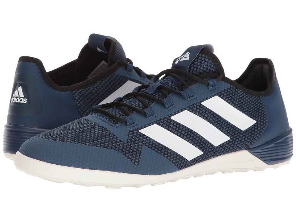 adidas - Ace Tango 17.2 IN (Mystery Blue/Footwear White/Core Black) Men's Soccer Shoes