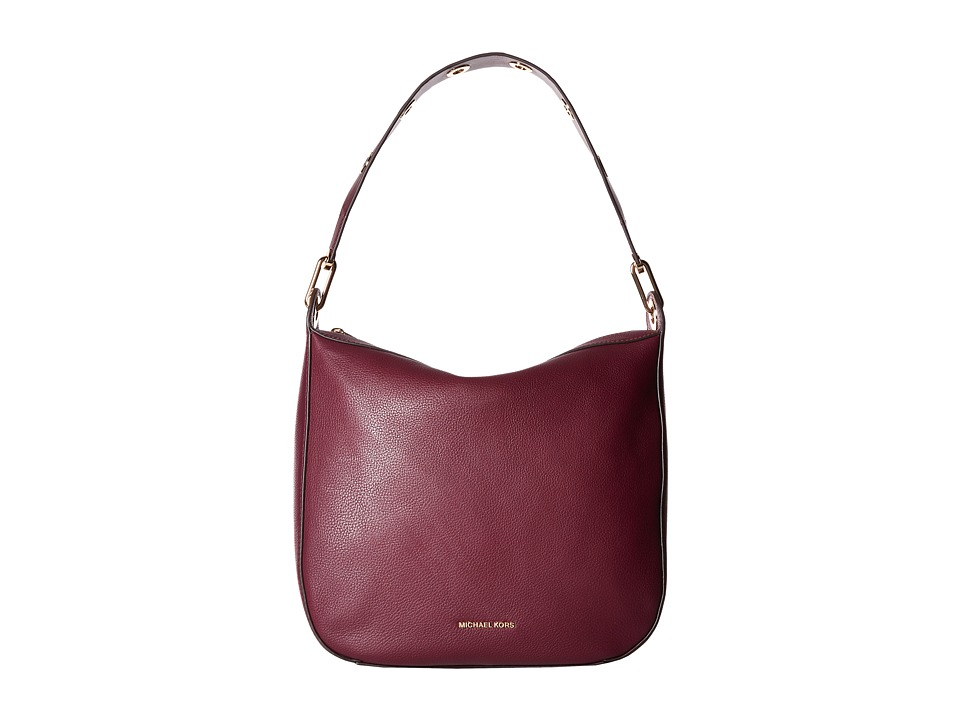 MICHAEL Michael Kors - Raven Lg Shldr (Plum) Shoulder Handbags