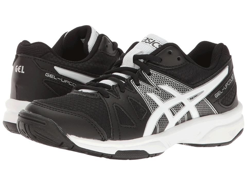 ASICS Kids - Gel-Upcourttm GS Volleyball (Little Kid/Big Kid) (Black/White/Silver) Boys Shoes
