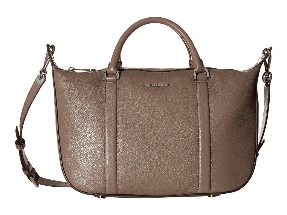 MICHAEL Michael Kors - Raven Lg Satchel (Cinder) Satchel Handbags