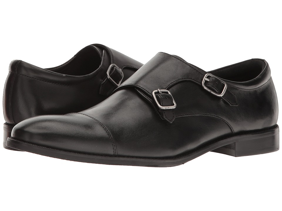 Gordon Rush - Abbott (Black) Men's Shoes