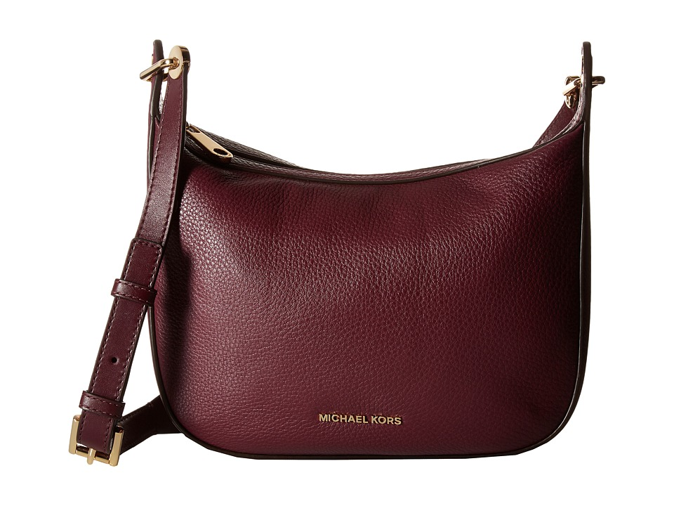 MICHAEL Michael Kors Raven Md Messenger (Plum) Messenger Bags