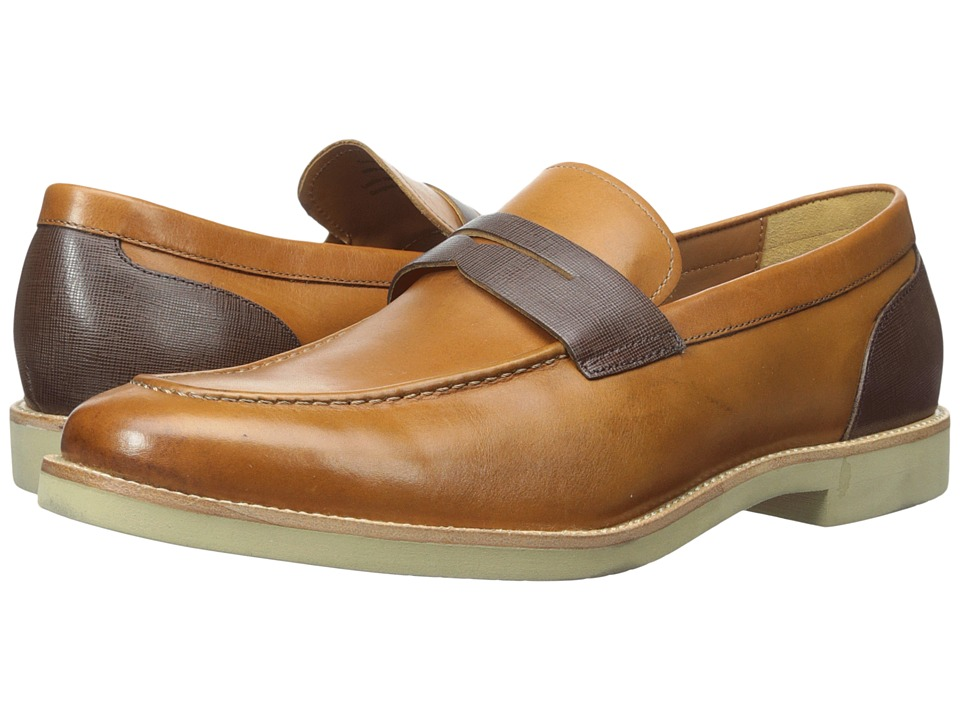Gordon Rush - Truman (Tan/Dark Brown) Men's Shoes