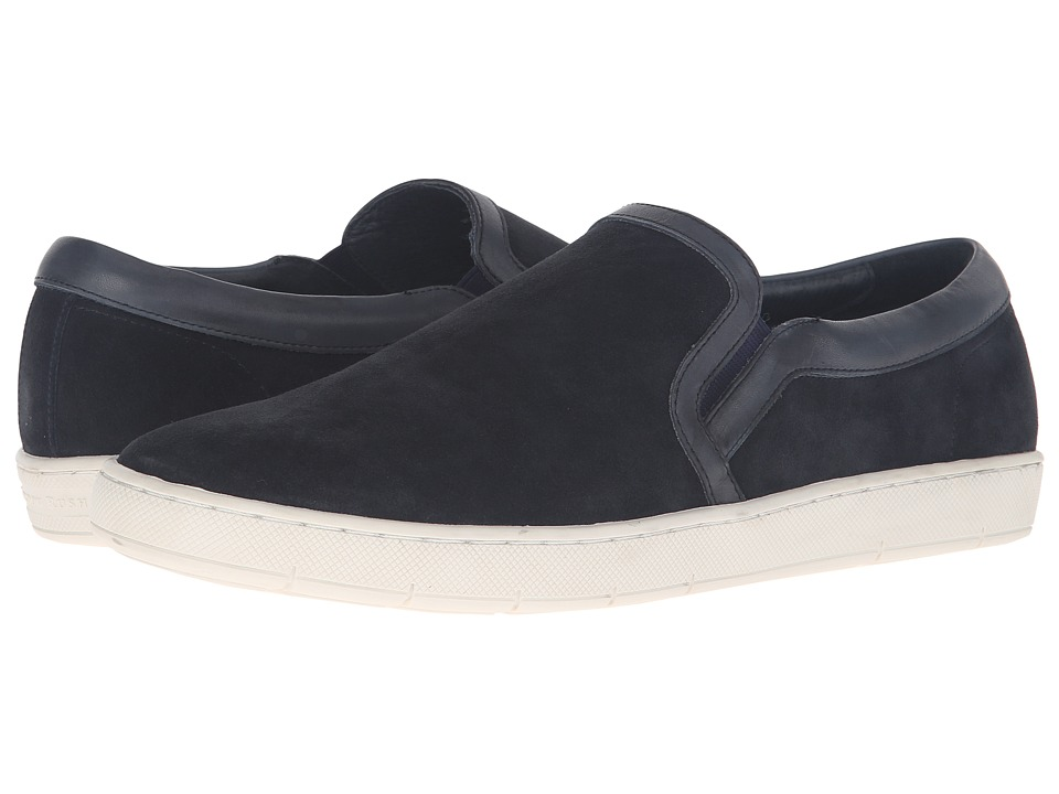 Gordon Rush - Premium Slip-On (Navy) Men's Slip on Shoes