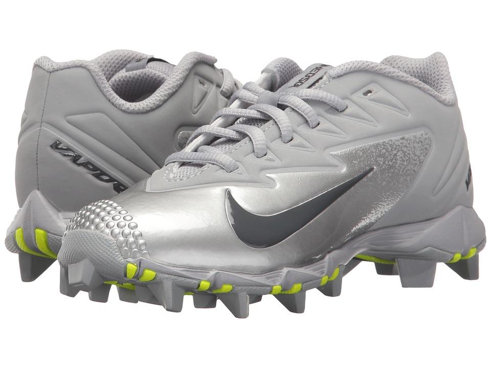 Nike Kids - Vapor Ultrafly Keystone Baseball (Toddler/Little Kid/Big Kid) (Wolf Grey/Dark Grey/Metallic Silver) Kids Shoes