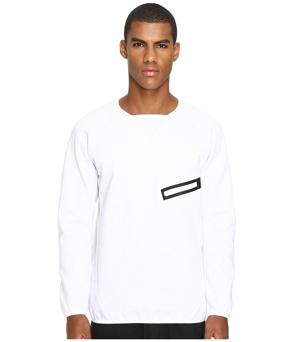 adidas Y-3 by Yohji Yamamoto - Future SP Crew (Snow Melange) Men's Sweatshirt