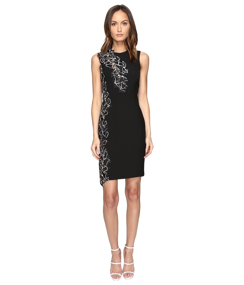 Versace Collection - Woven Dress (Nero) Women's Dress