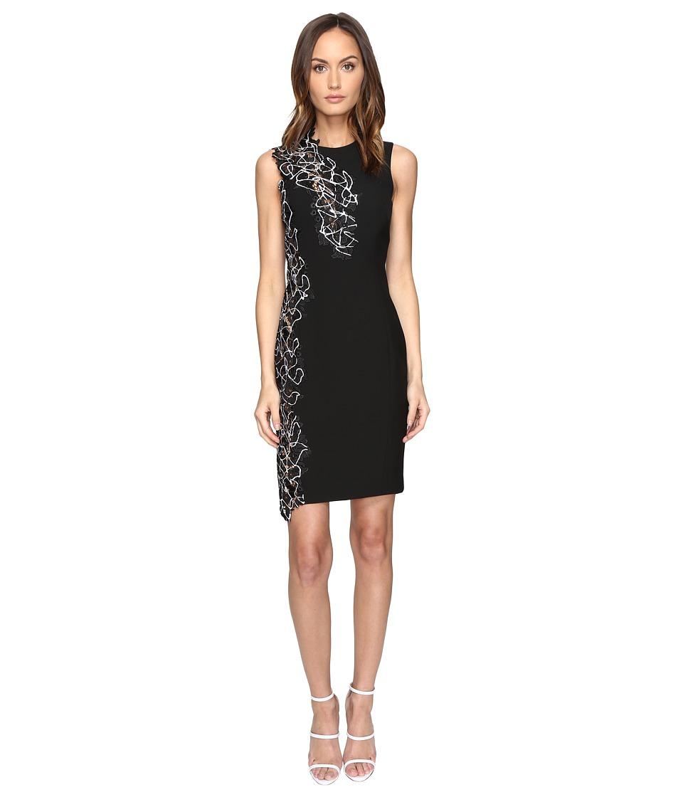 Versace Collection Woven Dress (Nero) Women