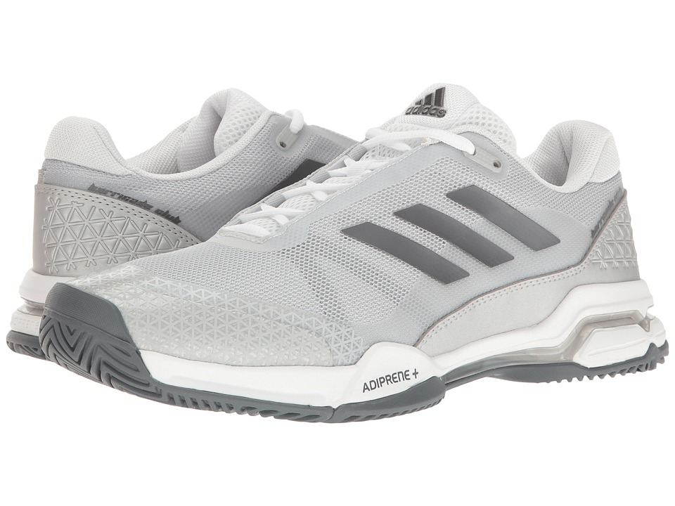 adidas - Barricade Club (Night Metallic/Footwear White/Core Black) Men's Tennis Shoes