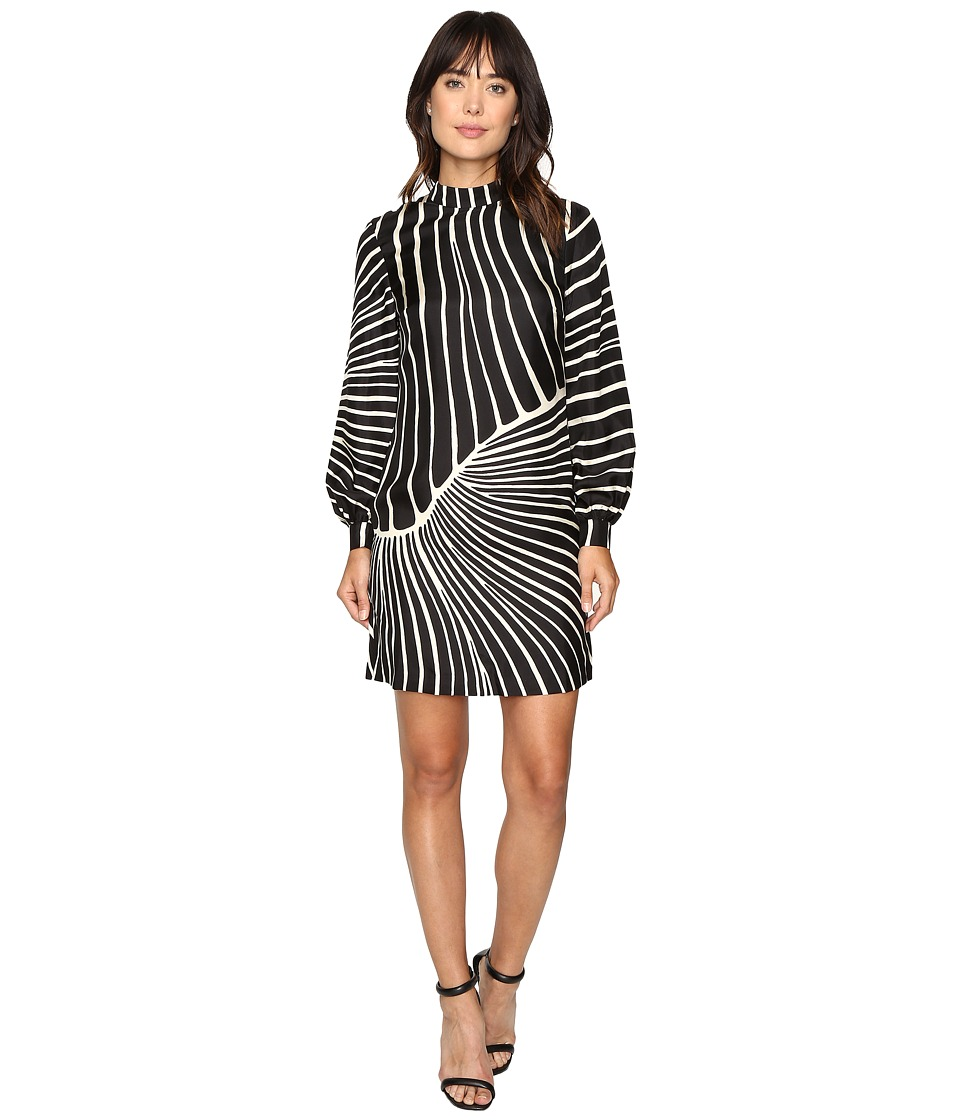 Trina Turk - Sake Dress (Black/Ivory) Women's Dress