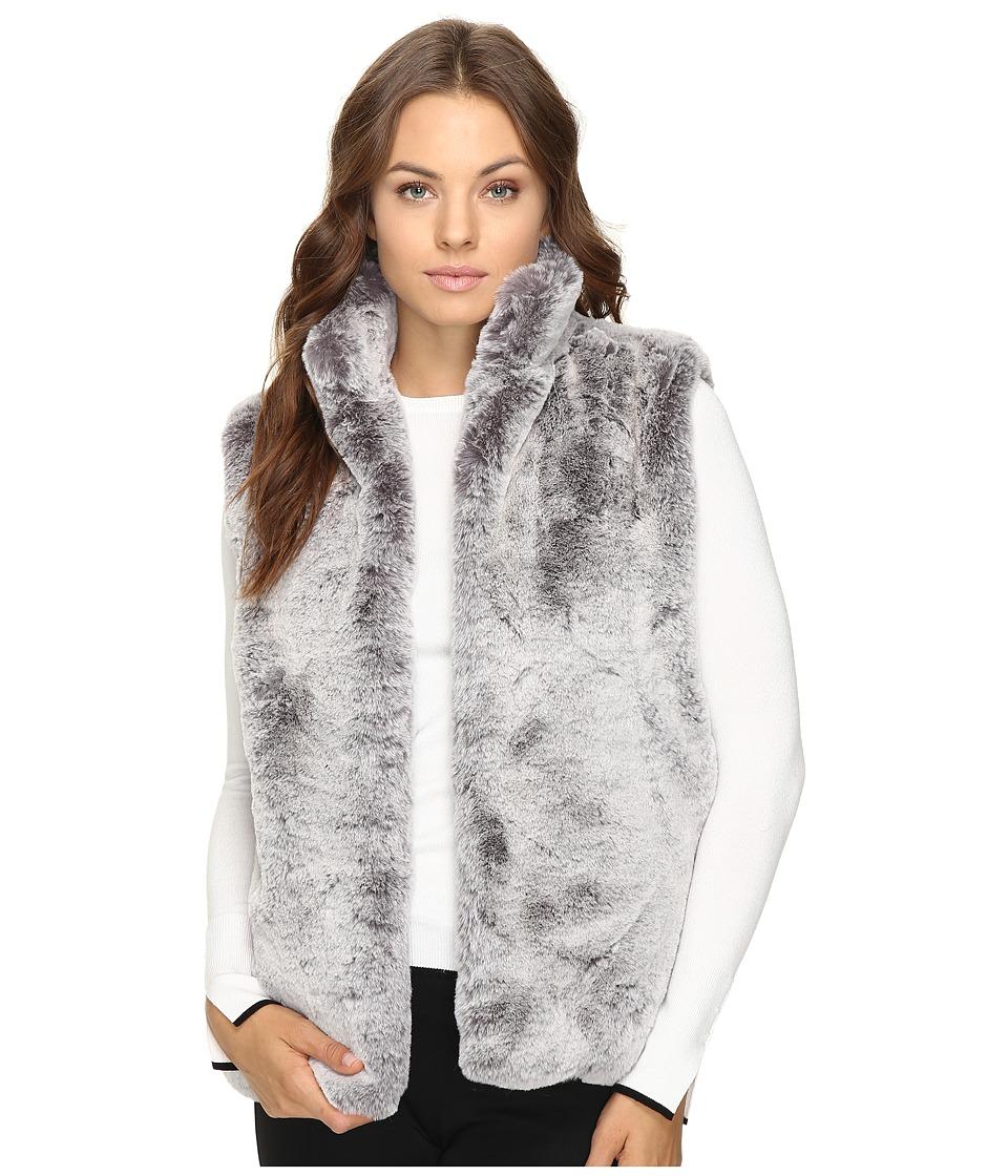 Brigitte Bailey - Lulu Faux Fur Vest (Grey) Women's Vest