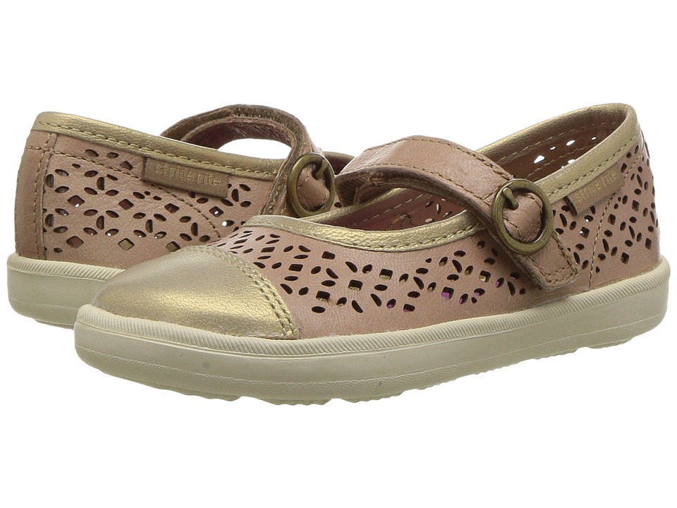 Stride Rite - Poppy (Toddler/Little Kid) (Tan) Girls Shoes