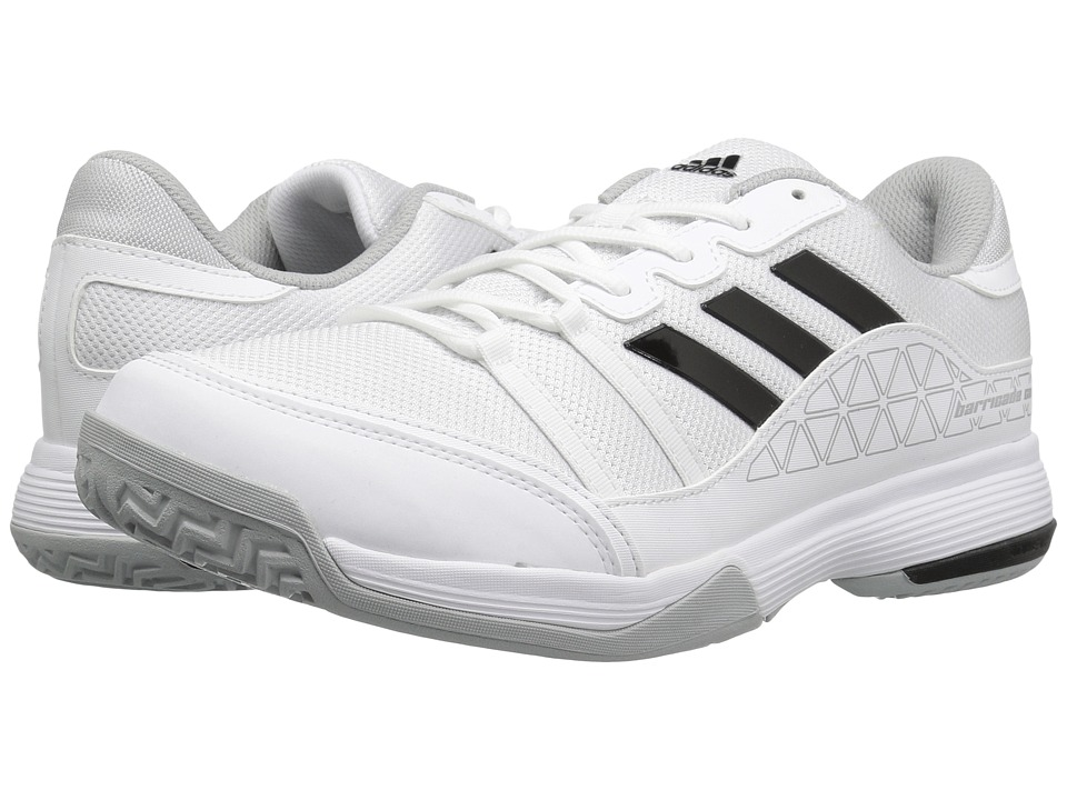 adidas Barricade Court (Footwear White/Clear Onix/Core Black) Men