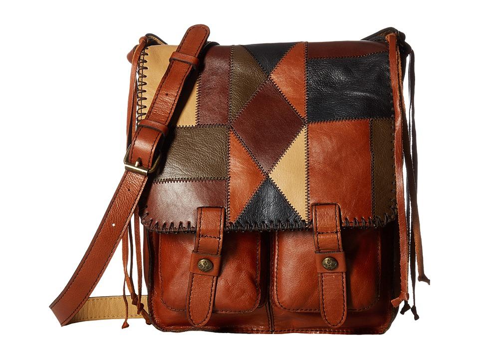 Patricia Nash - Armeno Crossbody (Zigzag Stitch Patchwork) Cross Body Handbags