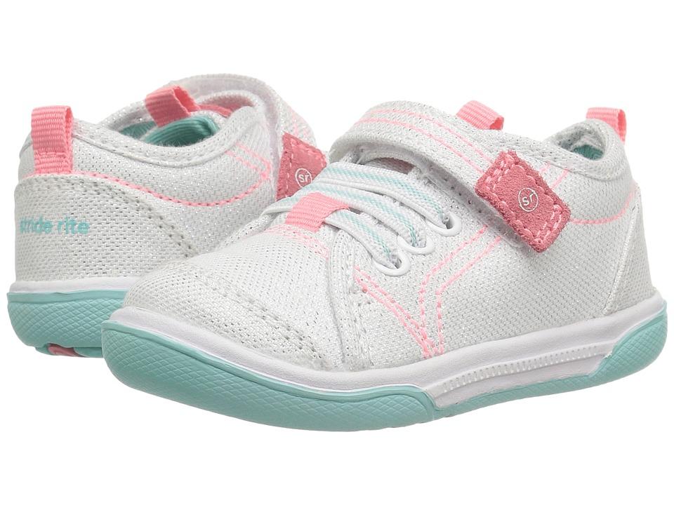 Stride Rite - Dakota (Toddler) (White) Girl's Shoes