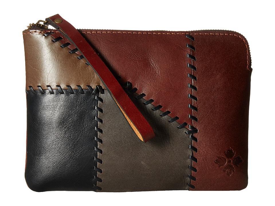 Patricia Nash - Cassini Wristlet (Patchwork Chocolate) Wristlet Handbags